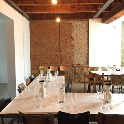 Build site turned tasting room / Bill&Co