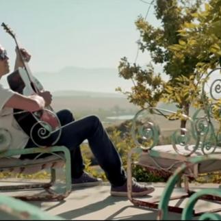 Valiant Swart music video shoot
