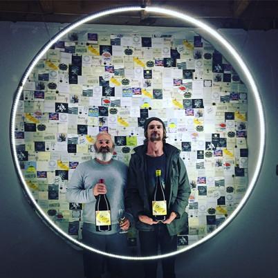 wine label photobooth / Cape Wine2018