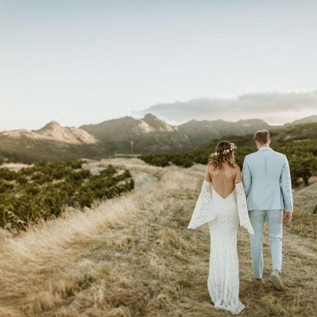 couple on farm shoot