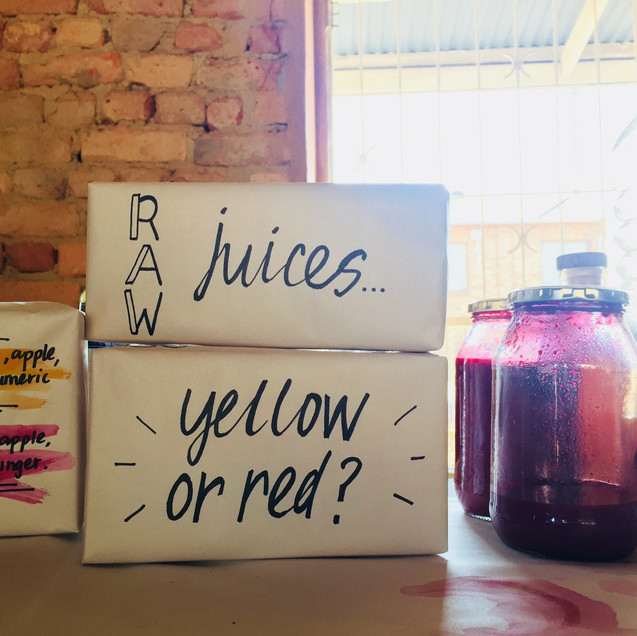 Juices for a market / Bill&Co