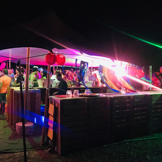 dancing and bar
