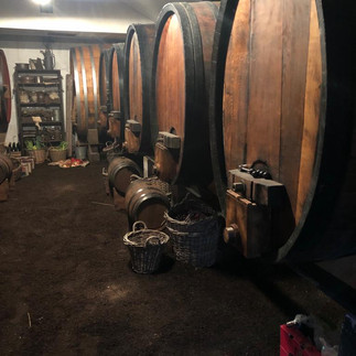 film shoot in cellar