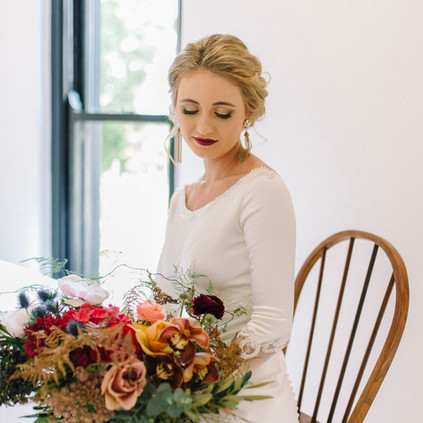 bride ready to go