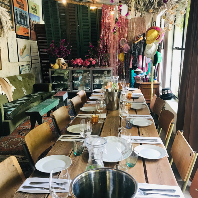 birthday tables decor