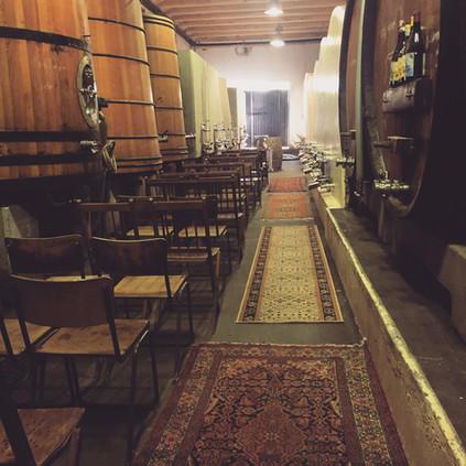cellar ceremony small inside