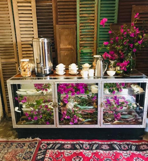 meeting tea station