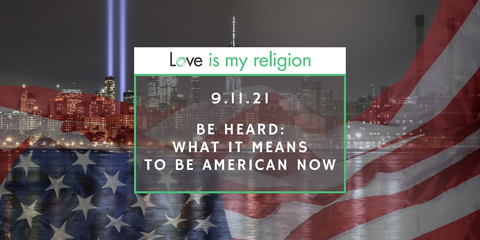 Be Heard: What it Means to be American Now
