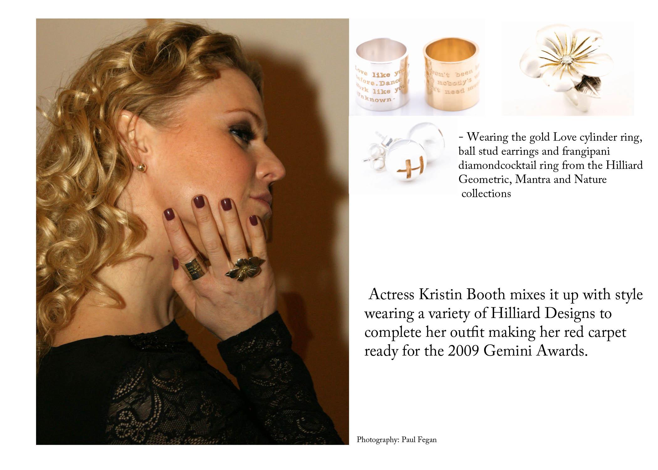 Kristin Booth Gemini's 2009