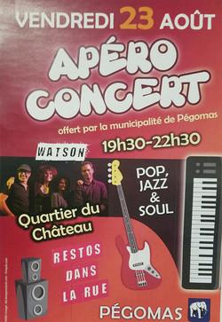 Concert Pégomas