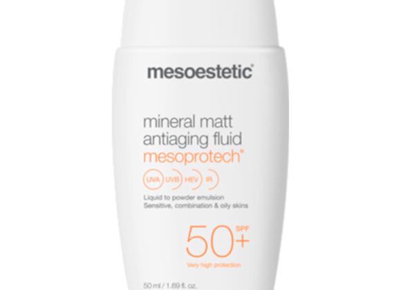 Mesoestetic Mesoprotech mineral matt anti-aging fluid 50ml