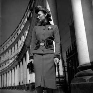 1940's vintage fashion