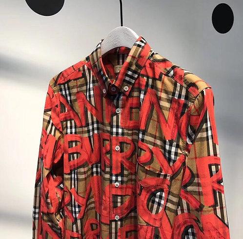 [BURBERRY] 버버리 그래피티 셔츠 M01078287
