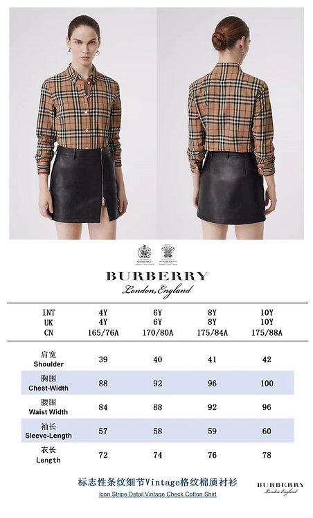 [Burberry ]#버버리 빈티지 테크 스트레치 코튼 셔츠 A01102820