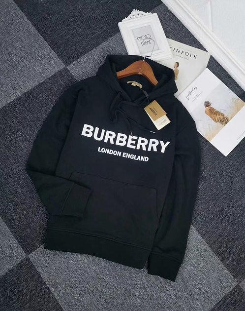 [Burberry ]#버버리 19F/W 로고 프린트 코튼 후디 A14075320