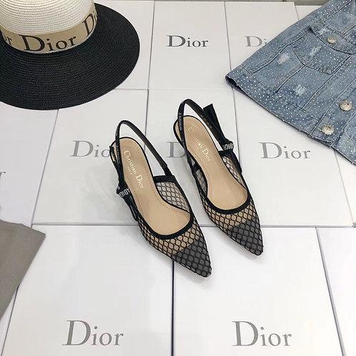 [Christian Dior ]#크리스찬 디올 메쉬 Miss J'adior 펌프스 / 발레리나 B15092540
