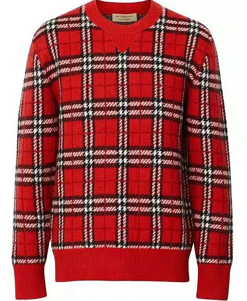 [Burberry ]#버버리 신상 플체크 스웨터 A14079370