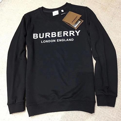 [Burberry ]#버버리 19F/W 남여공용8011357 A1189 로고 프린트 맨투맨 A10068320
