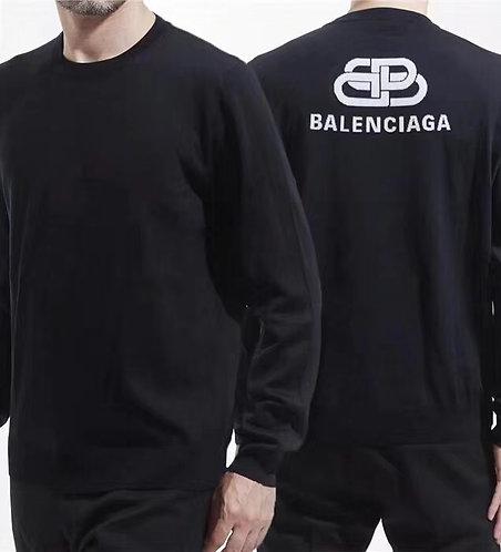 [Balenciaga ]#발렌시아가 583117 로고 니트 스웨터 A01094620