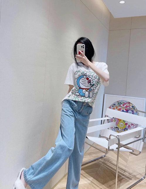 [GUCC* ]#구* 도라에몽 남여공용 티셔츠 A01085460
