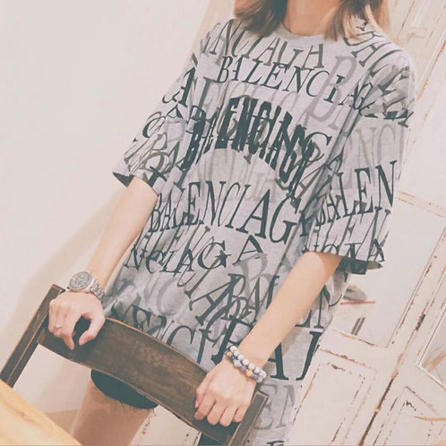 [Balenciaga ]#발렌시아가 19F/W 로고 티셔츠 A14061150