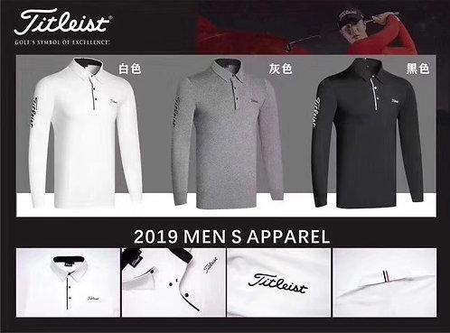 [GOLF ]#골프 #타이틀*** 신상 남성 긴팔 카라 티셔츠 G02035910