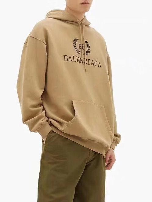 [Balenciaga ]#발렌시아가 19F/W 로리에 BB로고 프린트 코튼 후드스웨트셔츠 A08065280
