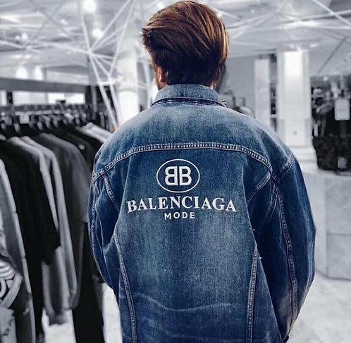 [Balenciaga] #발렌시아가 19F/W 신상 워싱 청자켓 A14084500