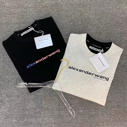 [ALEXANDERWANG ]#알렉산더왕 19ss 스테레오 그래디언트 프린트 티셔츠 A01067360