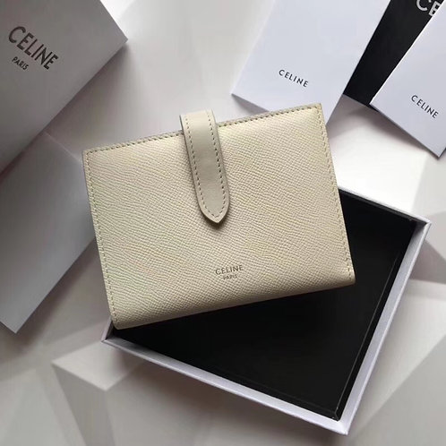 [CELINE ]#셀린느 Strap Medium Multifunction Wallet 여성 반지갑 C08110860