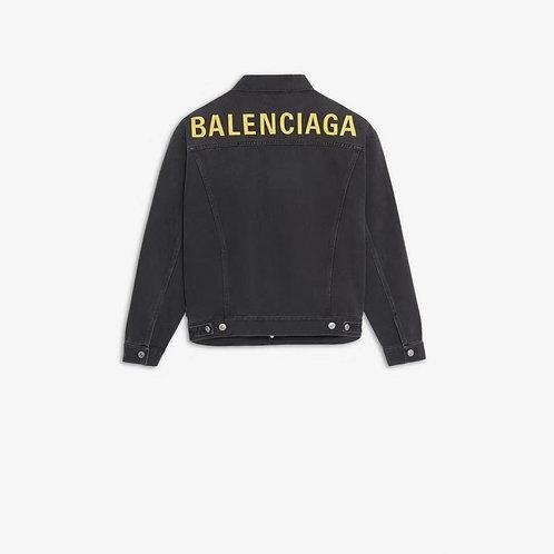 [Balenciaga ]#발렌시아가 19F/W 로고 오버사이즈 데님 자켓 A01103780