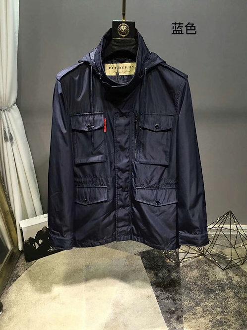 [Burberry ]#버버리 19F/W 신상 미들 롱 스텔스 후드 윈드 자켓 A14096560