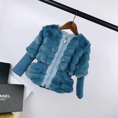[CHANEL] 샤넬 키즈 패딩 자켓 K02086274