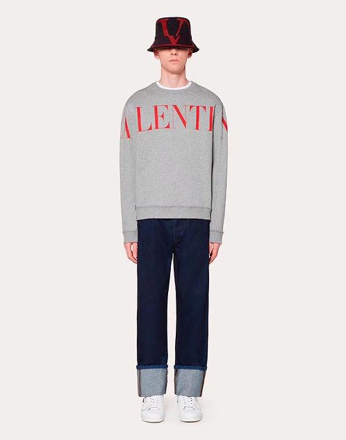 [Valentino]#발렌티노19F/W 로고 프린트 코튼 맨투맨 A09063260