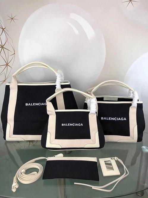 [Balenciaga ]#발렌시아가 데님 네이비 바카스백 C08144960