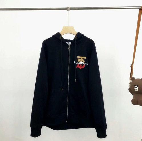 [Burberry ]# 버버리 19F/W 모노그램 모티브 코튼 후드 톱 A14079350