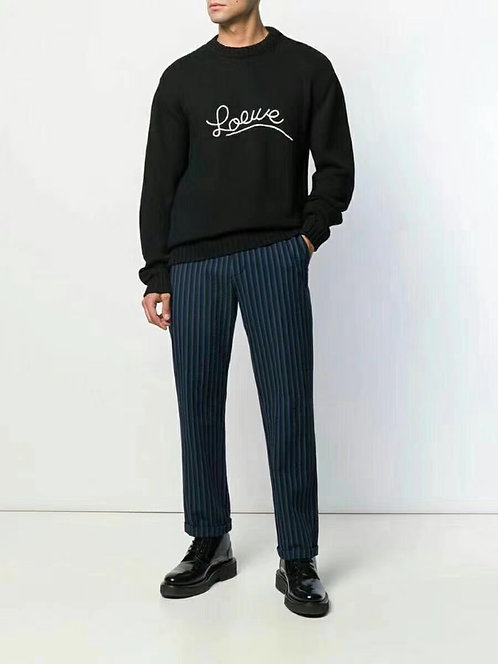 [Loewe ]#로에베 스티치 니트 스웨터 A14079440