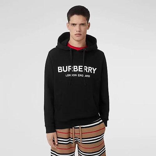 [Burberry]#버버리19F/W 신상 로고 프린트 코튼 후디 A01086520
