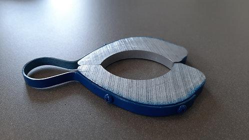 Cale de réglage bleu 7mm