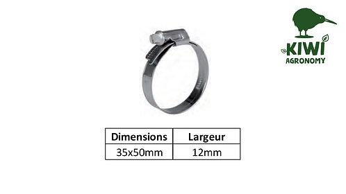Collier serrage Inox 35x50mm