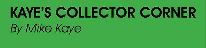 Kaye's Collector Corner 0720