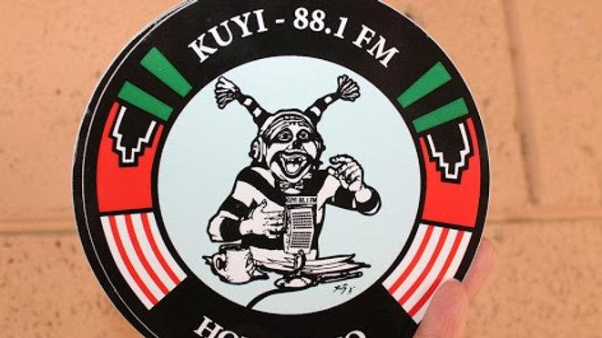 KUYI Logo Round Sticker