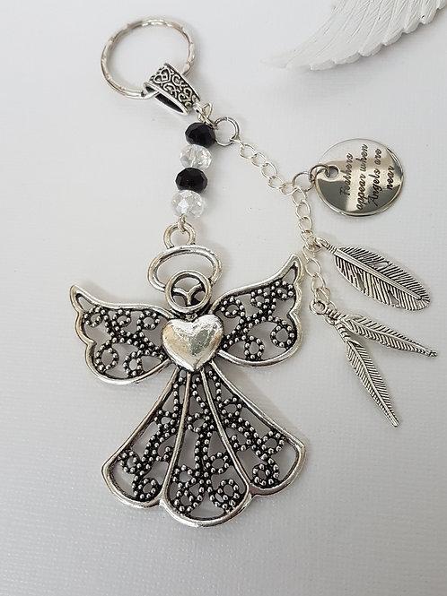 Angel Charm Keyring