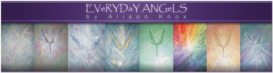 Evey Day Angels by Alison Knox