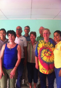 Ann Deignan and Peggy with Nica Staff