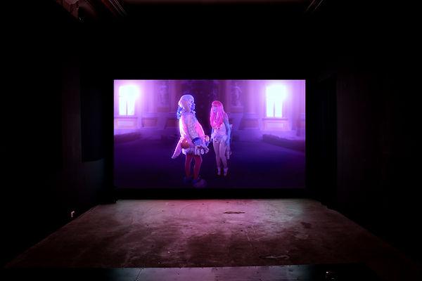 Rachel Maclean - Exhibition Installation Shot