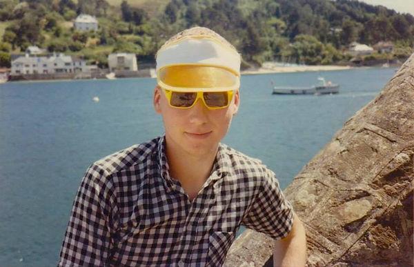 Stewart Home in South Devon summer 1984