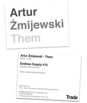 Postcard Design For Exhibition
