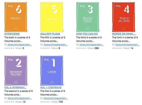 LIE 6 Volumes