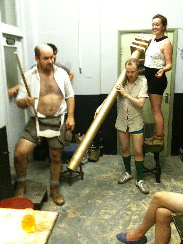 The Green Man & Regular Fellows - Group Photo